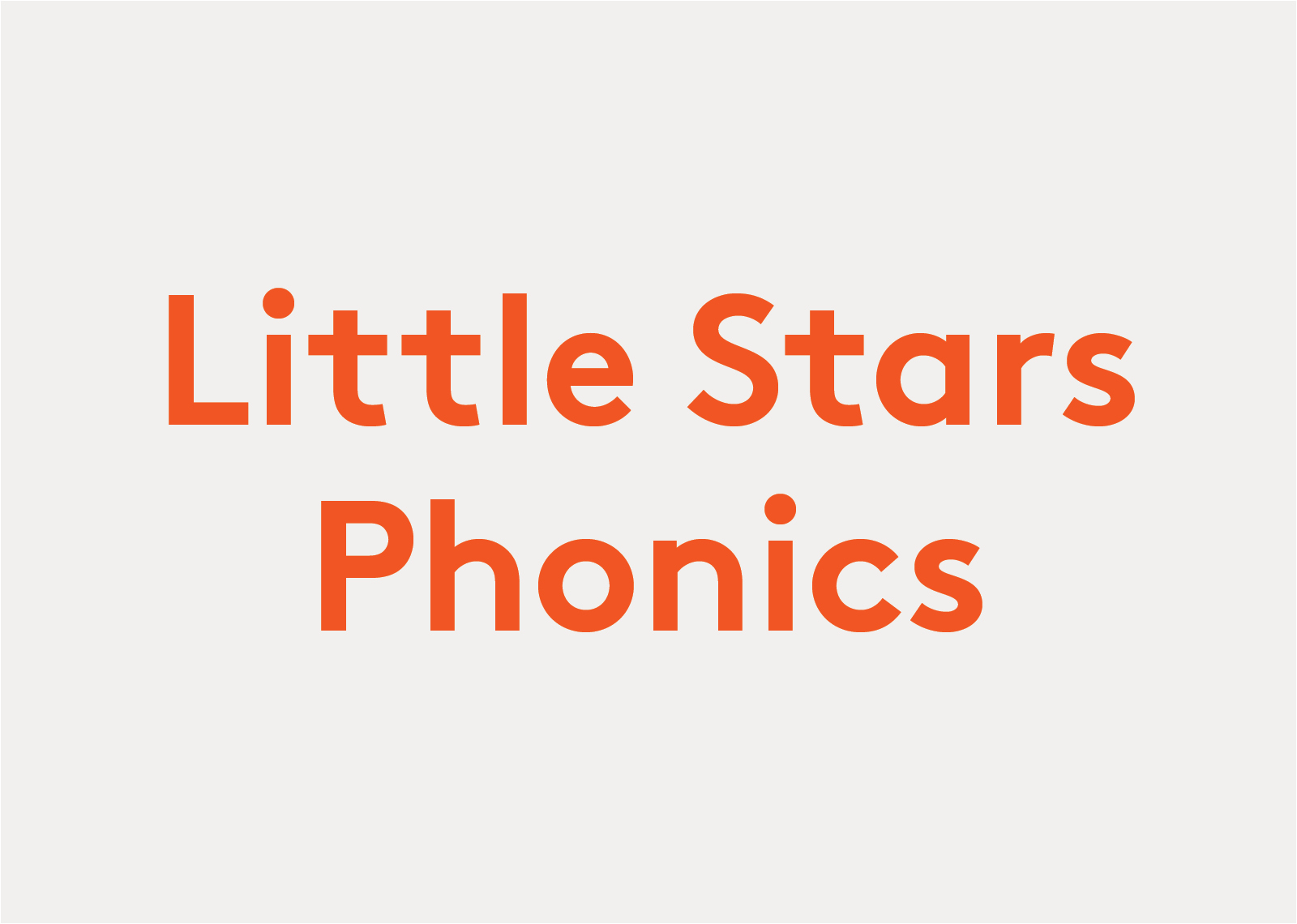 Little Stars Phonics